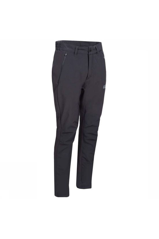 Jack Wolfskin Trousers Zenon Softshell black