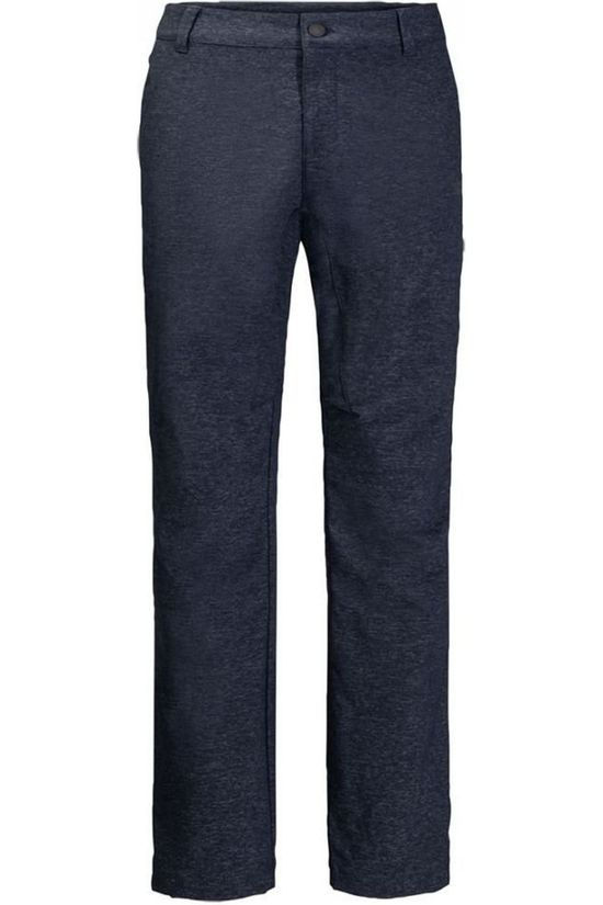 Jack Wolfskin Trousers Winter Travel Long dark blue