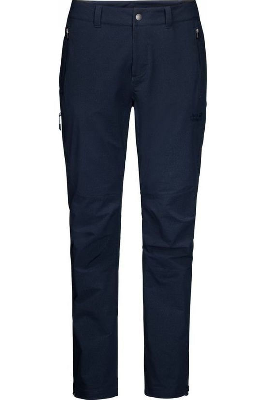 Jack Wolfskin Trousers Activate Sky Short dark blue