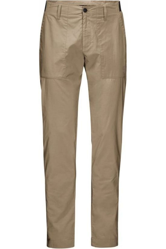 Jack Wolfskin Trousers Tanami - Regular Sand Brown