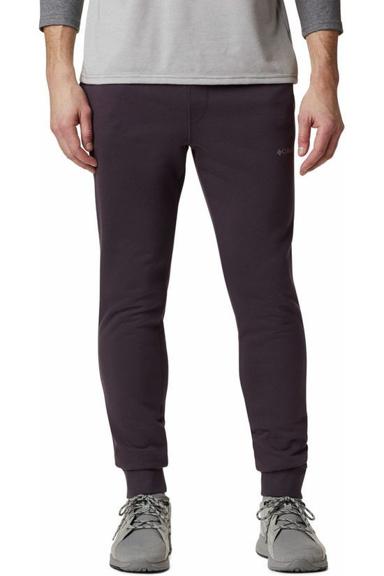 Columbia Trousers Csc Logo Fleece Jogger II dark purple