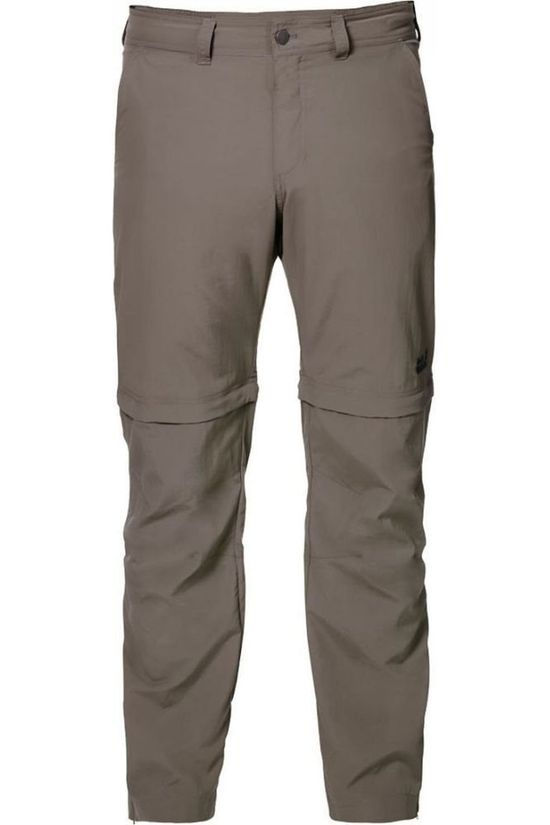 Jack Wolfskin Trousers Canyon Zip-Off mid grey