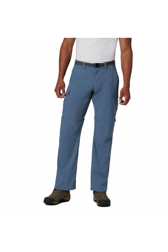 "Columbia Trousers Cascades Explorer Convertible 32"" mid blue"
