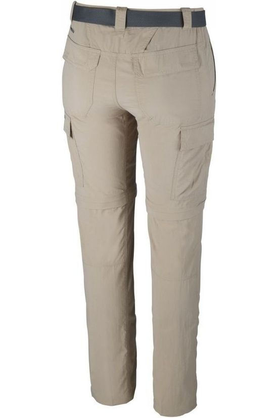 "Columbia Trousers Silver Ridge II Convertible 32"" Sand Brown"