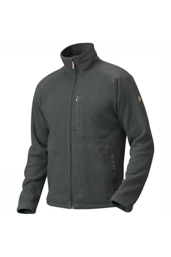 Fjällräven Fleece Buck mid grey/dark grey