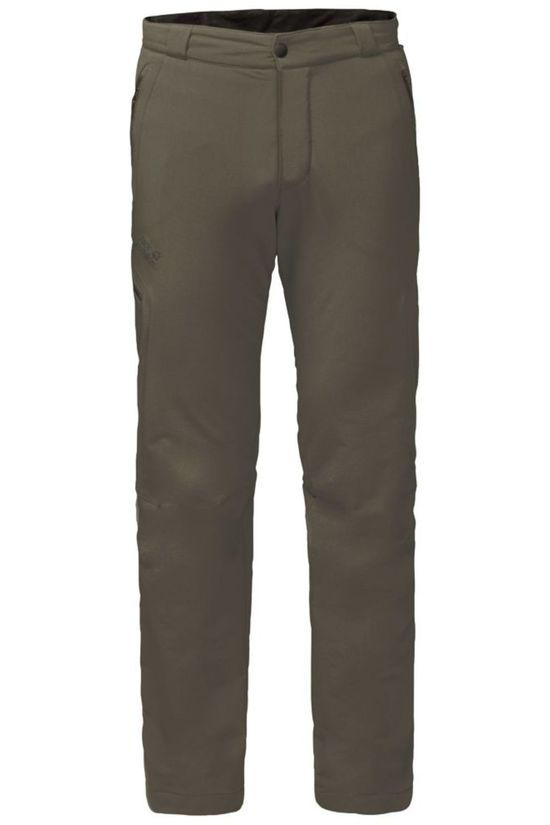 Jack Wolfskin Broek Activate Thermic Taupe