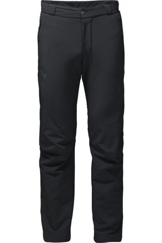 Jack Wolfskin Trousers Activate Thermic black