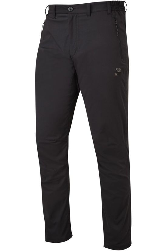 Sprayway Pantalon All-Day Rain Noir