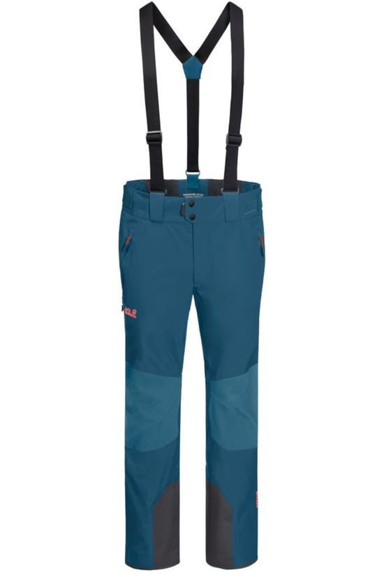 Jack Wolfskin Trousers Solitude Mountain mid blue