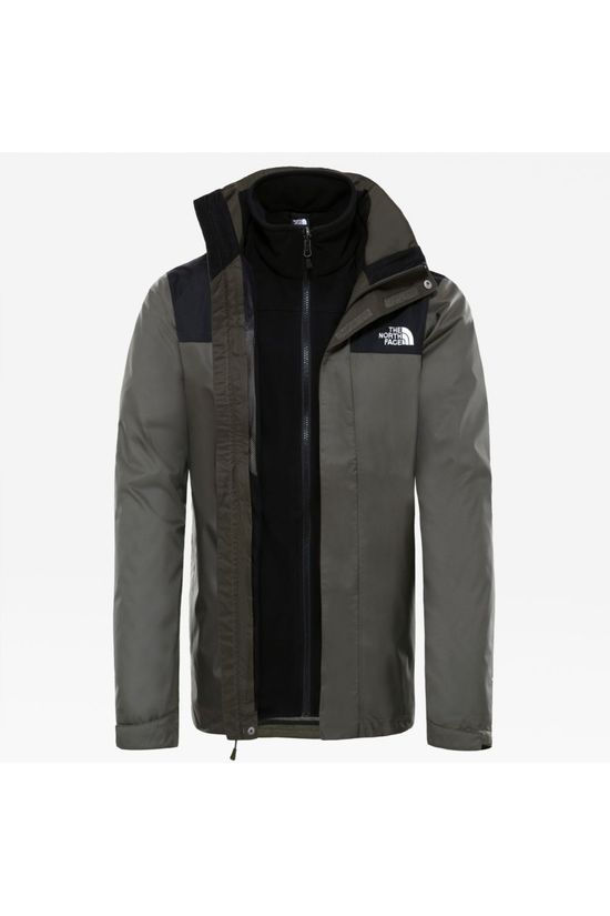 The North Face Coat Evolve II Triclimate mid khaki/black