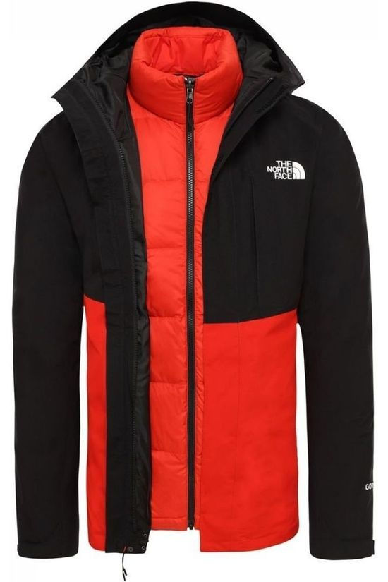 The North Face Jas Mountain Light Triclimate Rood/Zwart