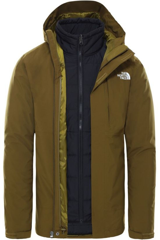The North Face Jas Carto Triclimate Groen
