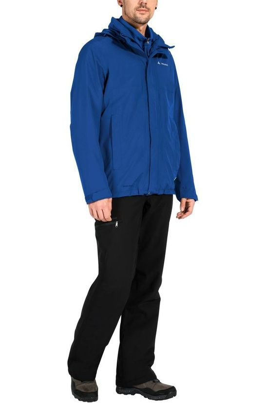 Vaude Manteau Rosemoor 3In1 Jacket Bleu