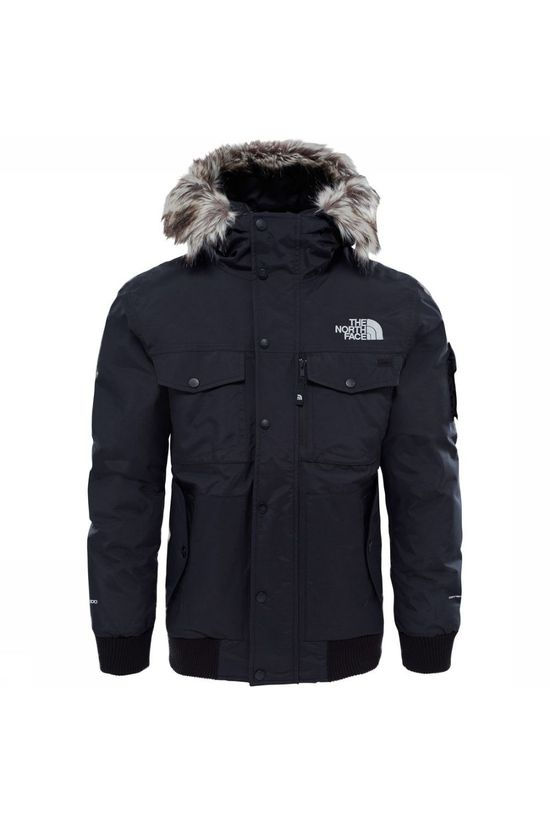 The North Face Down Jacket Gotham Dark Grey Marle