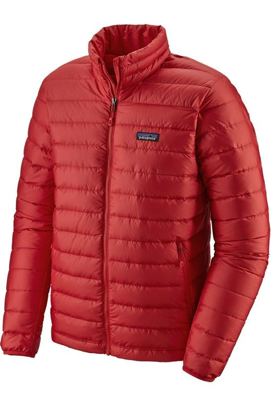 Patagonia Down Jacket Down Sweater red
