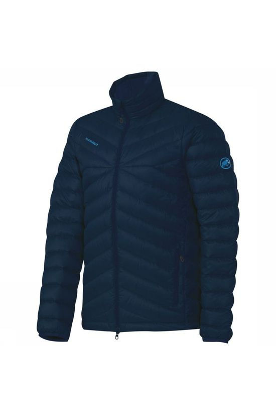 Mammut Down Jacket Trovat In Navy Blue