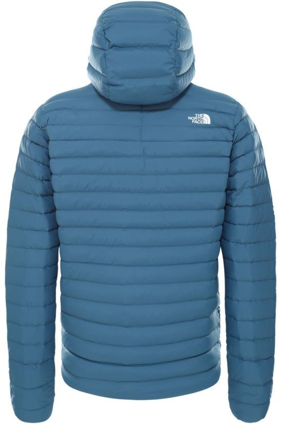 The North Face Donsjas Stretch Down Hoodie Blauw/Zwart
