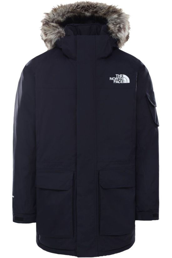 The North Face Down Mc Murdo Rec. Parka Navy Blue