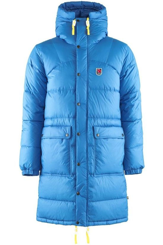 Fjällräven Down Jacket Expedition Long Down Parka blue