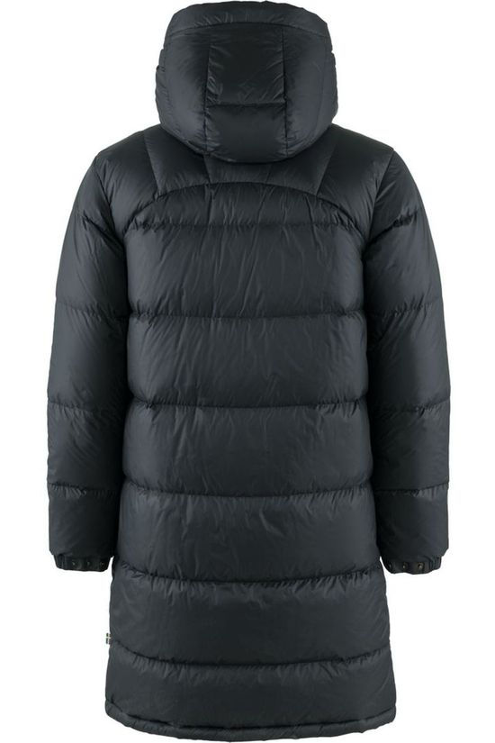 Fjällräven Donsjas Expedition Long Down Parka Zwart