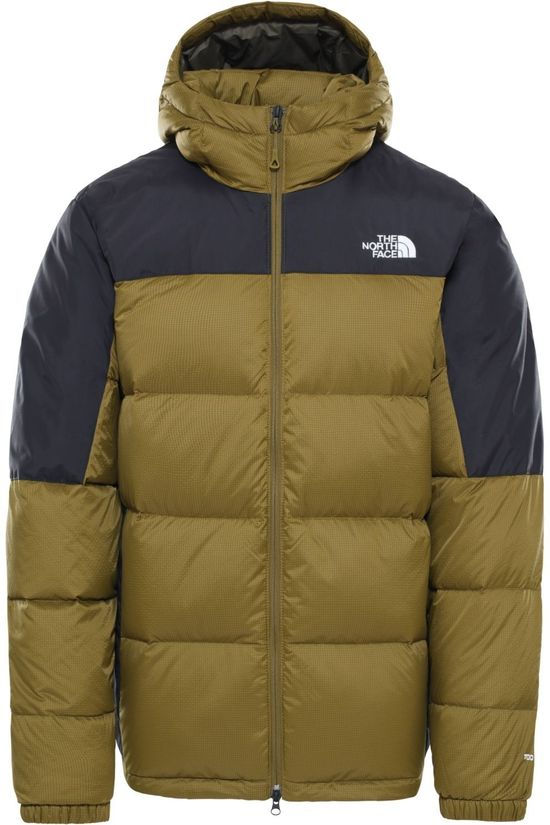 The North Face Down Diablo Down Hoodie green/black