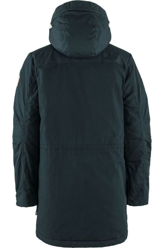 Fjällräven Coat Singi Wool Padded Navy Blue