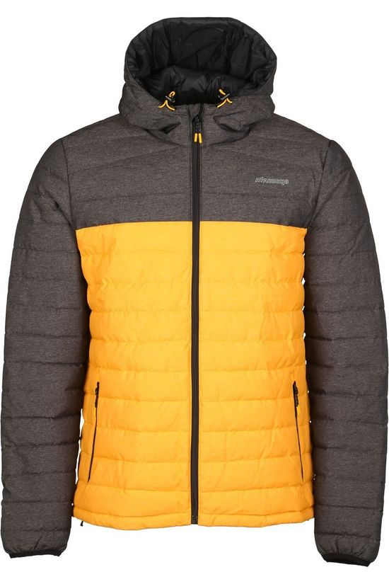 Ayacucho Jas 10Y Mount Everest Hooded Zwart/Geel