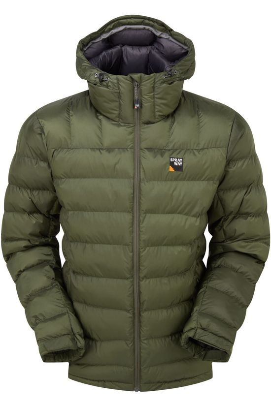 Sprayway Coat Lomic dark green