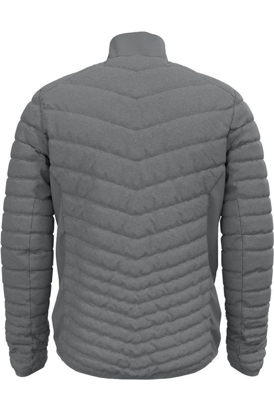 Odlo Coat Cocoon N-Thermic Light Mid Grey/Marle