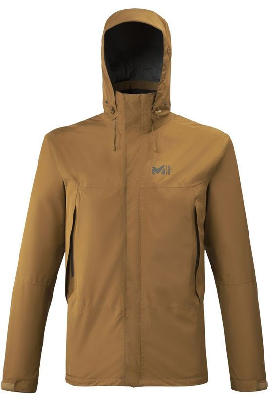 Millet Coat Grands Montets Gore-Tex Camel Brown