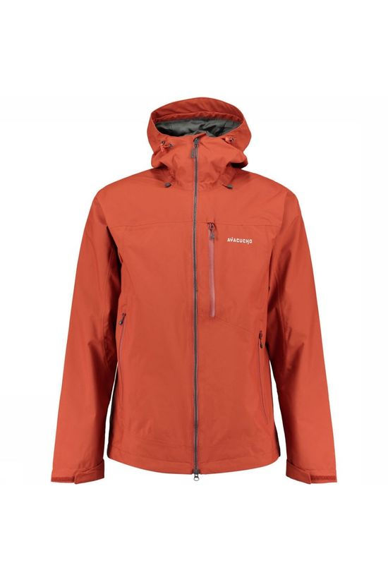 Ayacucho Coat Arctic 2L Shell rust