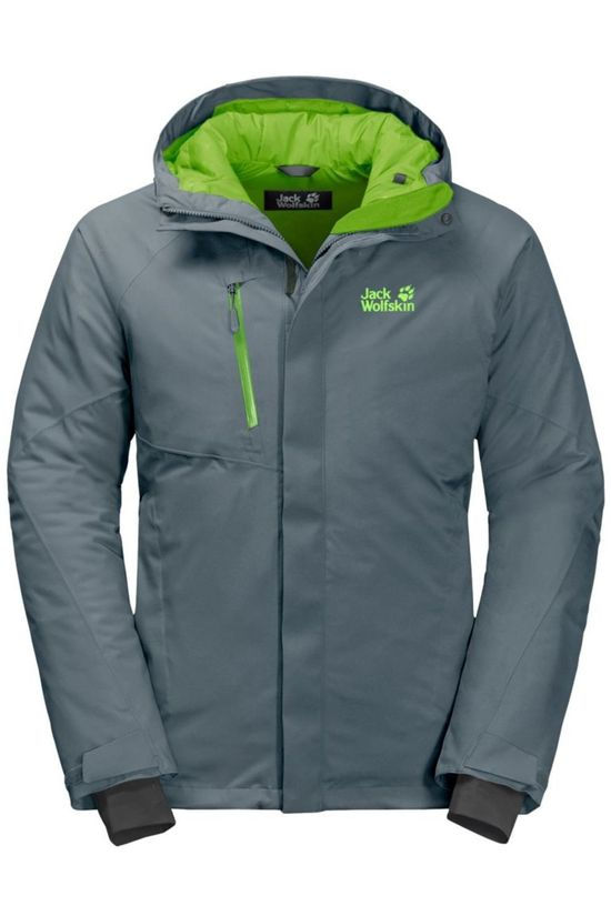 Jack Wolfskin Coat Troposphere dark grey/green