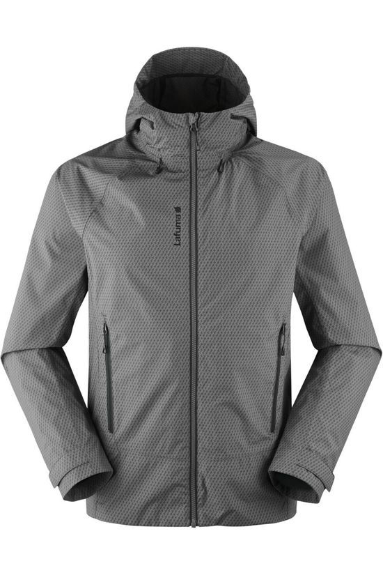 Lafuma Coat Skim Zip In Dark Grey Marle