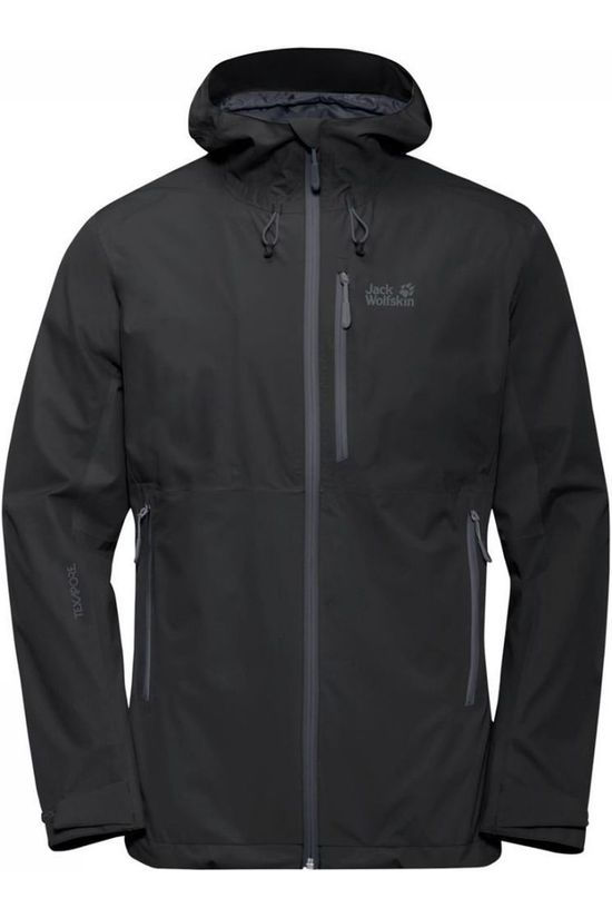 Jack Wolfskin Coat Eagle Peak black