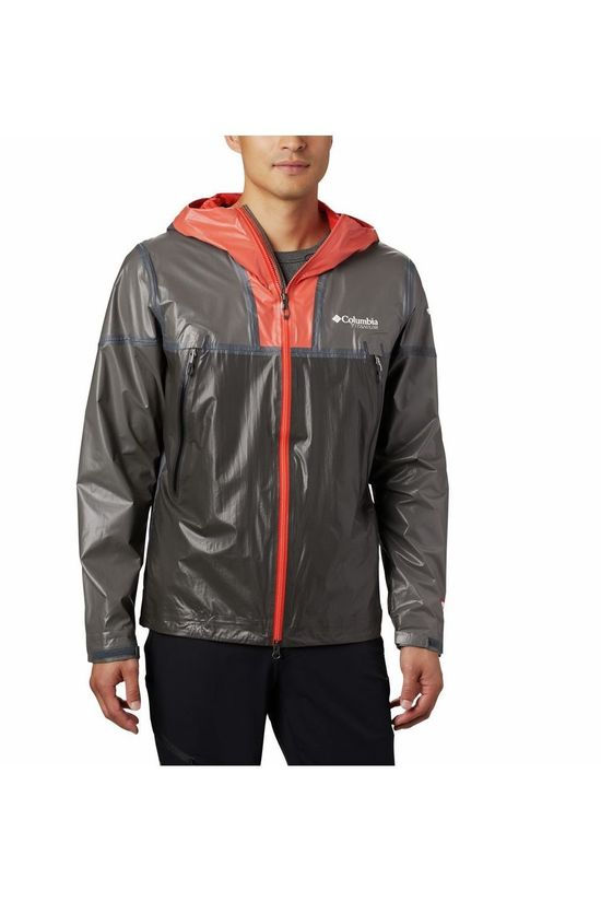 Columbia Coat Outdry Ex Lightweight red/black