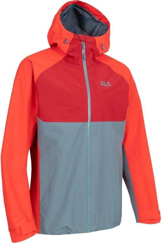 Jack Wolfskin Coat Mount Isa M red/orange