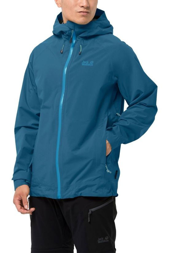 Jack Wolfskin Coat Highest Peak 3L M blue