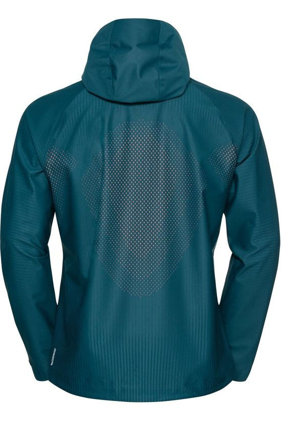 Odlo Manteau Blackcomb Futureknit 3L Bleu Pétrole