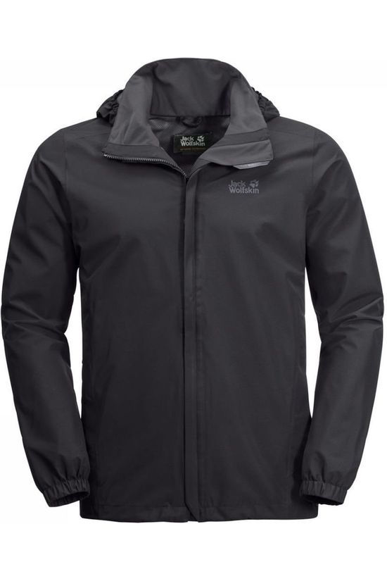 Jack Wolfskin Coat Stormy Point black