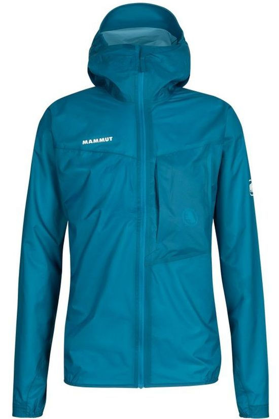 Mammut Waterproof Jacket Kento Light Hs blue