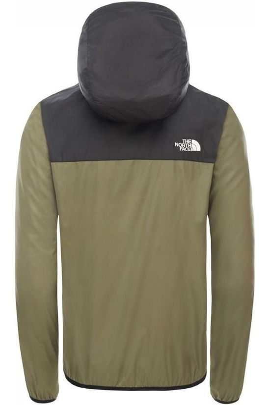 The North Face Coupe-Vent Cyclone 2 Hoody Noir/Kaki Clair
