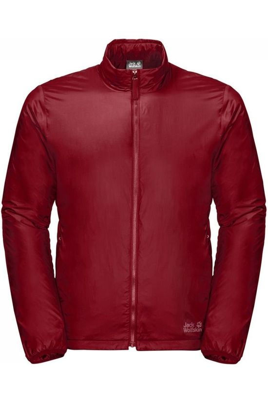Jack Wolfskin Windstopper JWP Thermic One Pack And Go! dark red
