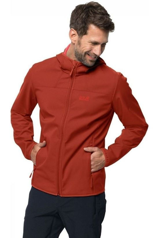 Jack Wolfskin Softshell Northern Point Roest