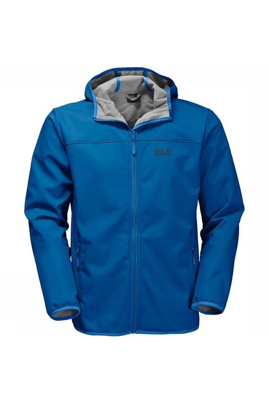 Jack Wolfskin Softshell Northern Point mid blue