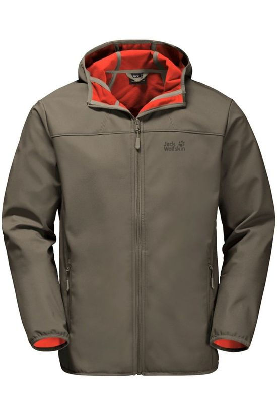Jack Wolfskin Softshell Northern Point Taupe