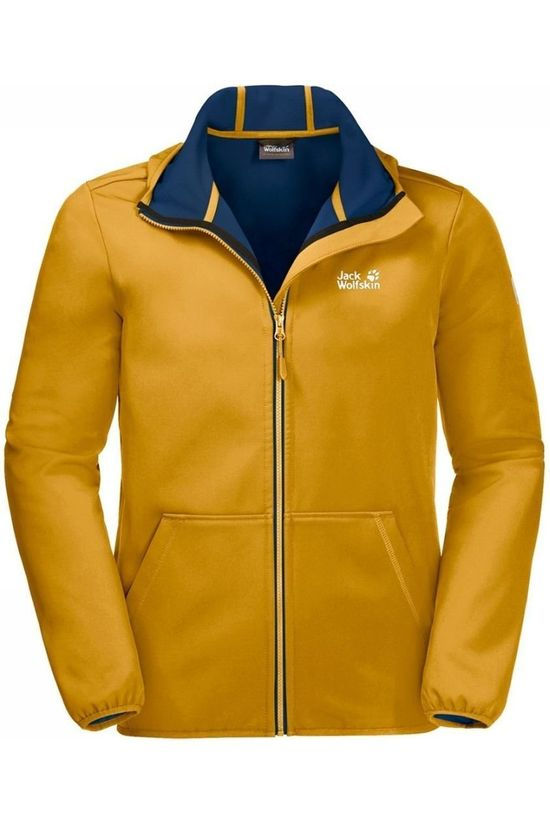 Jack Wolfskin Softshell Essential Peak yellow