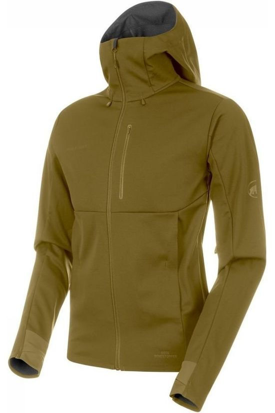 Mammut Softshell Ultimate V SO Mid Khaki/No colour