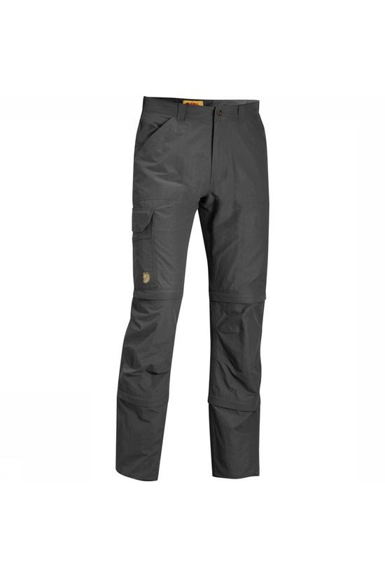 Fjällräven Trousers Cape Point Micro Travel 3 Stage dark grey