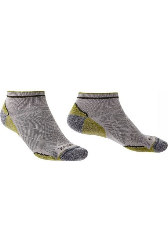 Bridgedale Sock Hike Coolmax Ultra Light T2 Low mid grey/green