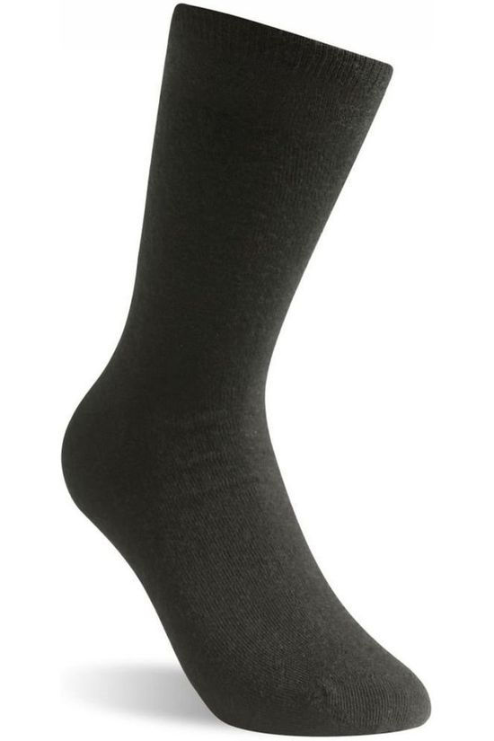 Woolpower Chaussettes 2-Pack Sock Liner And Logo 400gr Noir